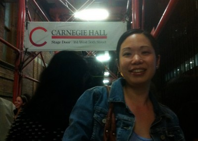 Carnegie Hall June 2014